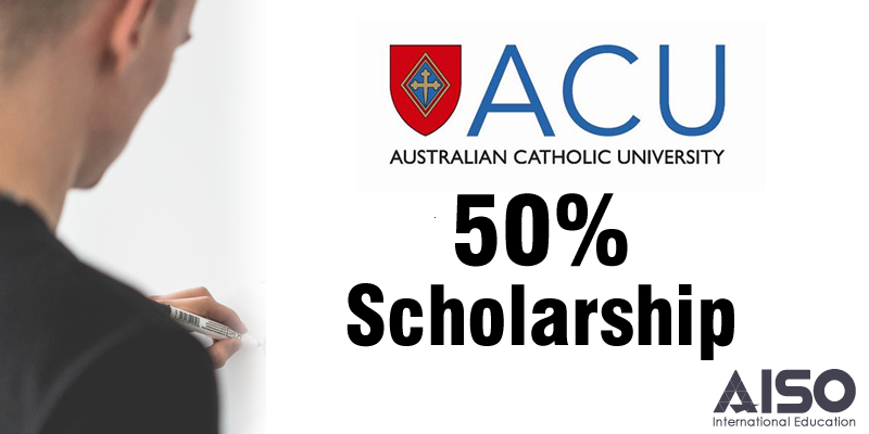 50% Scholarship at Australian Catholic University