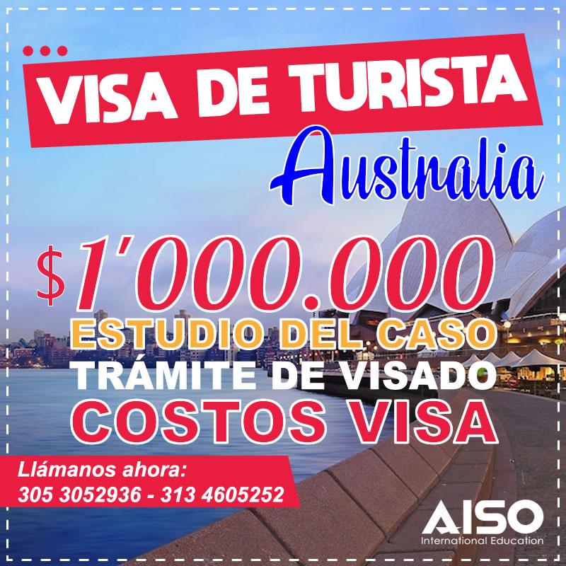 Tramite de visa de turista para Australia