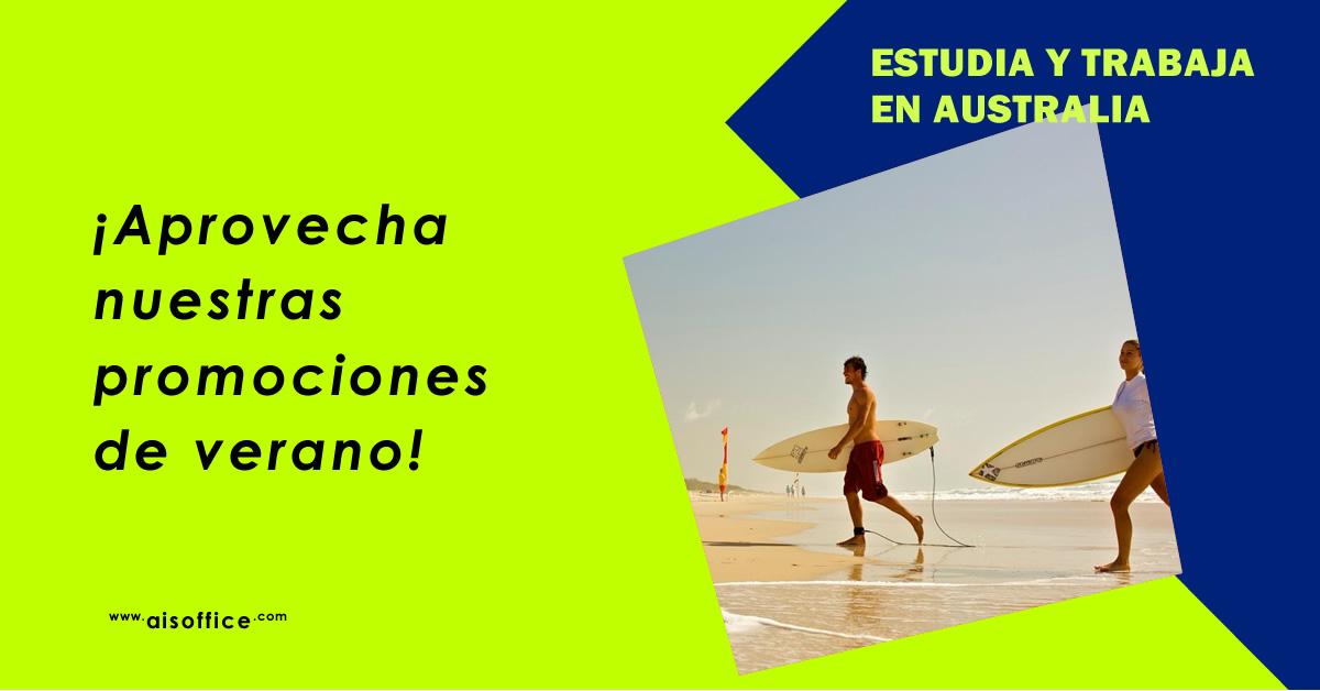 Aprovecha nuestras promociones de verano para estudiar en Australia