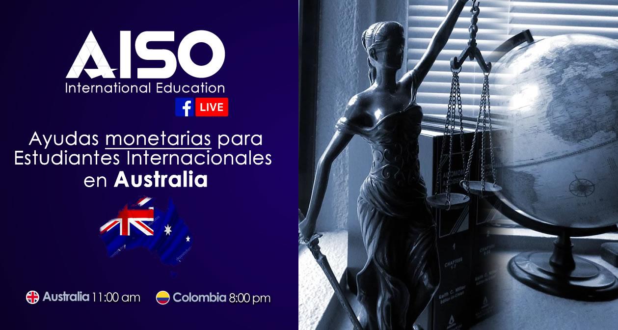 Ayudas de Gobierno para estudiantes internacionales en Australia (FB Live)