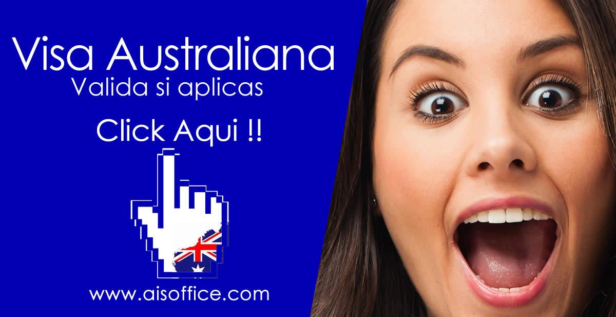 Visa australiana validador